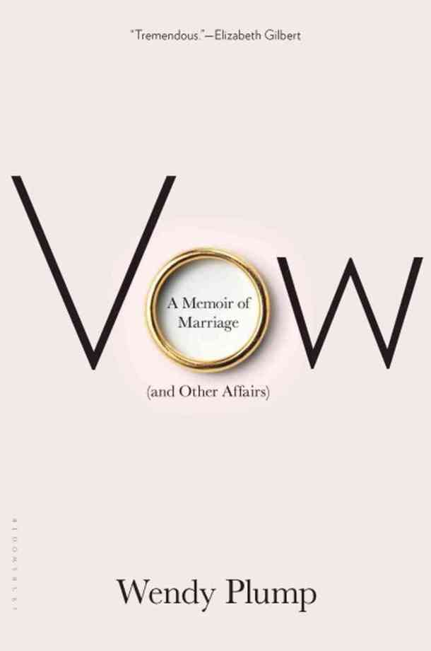 A memoir of marriage and other affairs.